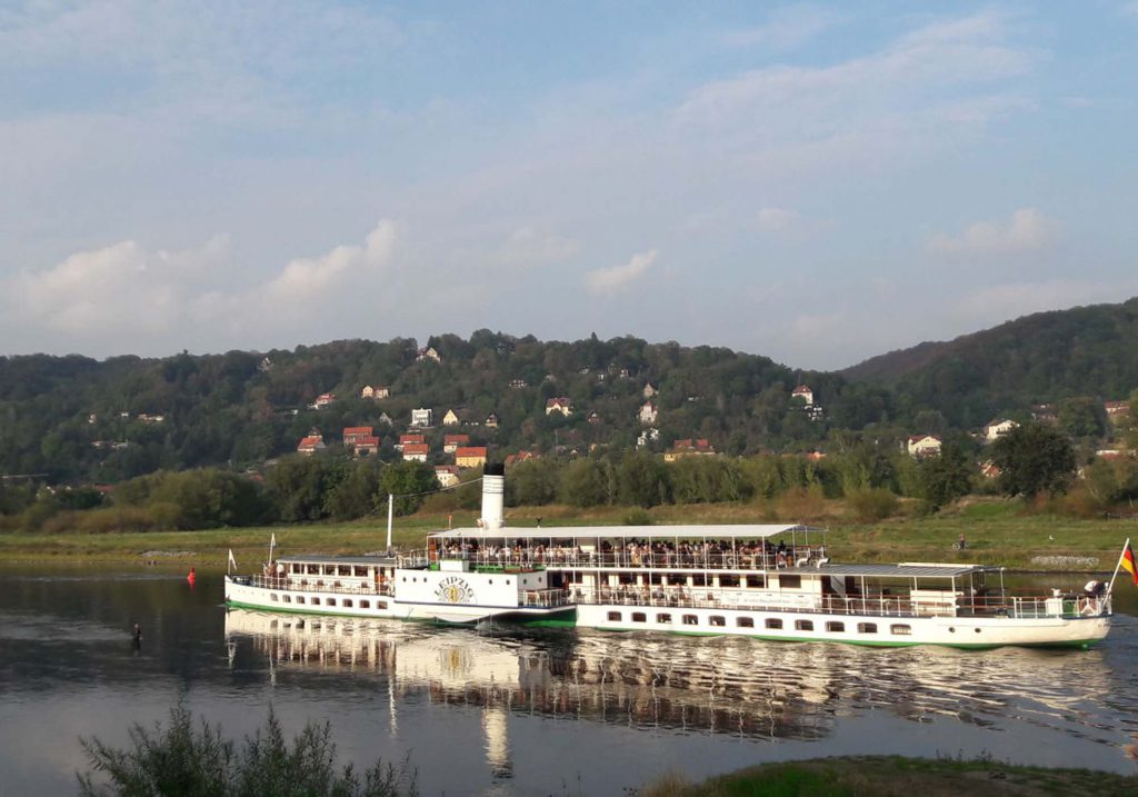 Dampfer der Sächsischen Dampfschiffahrt